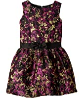 Us Angels - Brocade Sleeveless Princess Bodice Dress (Toddler/Little Kids)