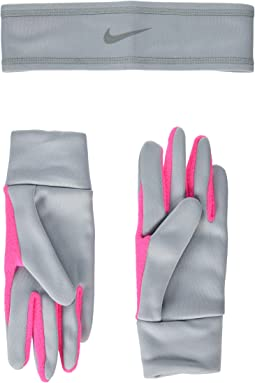 Nike - Run Thermal Headband and Gloves Set