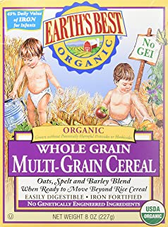 Earth's Best Baby Cereal - Multi Grain - 8 Oz - 2 Pk