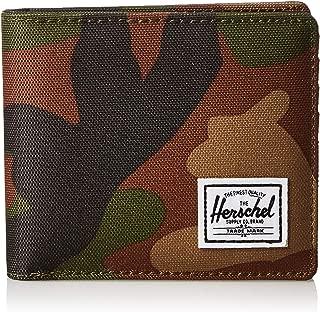 Herschel Unisex-Adult Roy + Coin Xl RFID Wallet, Woodland Camo - 10404