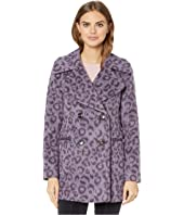 Kate Spade New York - Brushed Leopard Coat