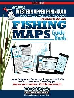Michigan - Western Upper Peninsula Fishing Map Guide