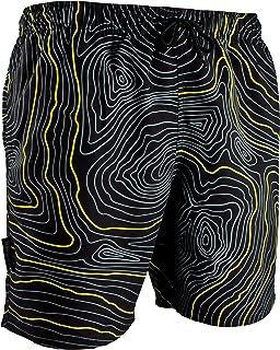 Guggen Mountain Calzoncini da Bagno per Uomo Watershorts Costume da Bagno Adult quadrettato Print*