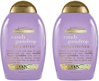 OGX Haircare - Limited Edition - Candy Gumdrop - Shampoo & Conditioner Set - Net Wt. 13 FL OZ (385 mL) Per Bottle - One Set