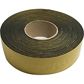 Black M-D Building Products 50162 Pipe Insulation /& Tape 50 6 L x 1//2 T