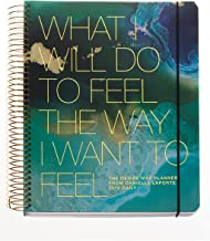 The Desire Map Planner from Danielle LaPorte 2018 Daily (Teals & Gold)