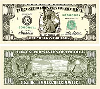 American Art Classics Set of 50 - Traditional Million Dollar Bill