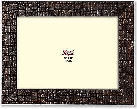 Ajanta Royal Classic 6 x 8 Photo Frame Insert (Brown Metalic) A-49