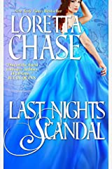 Last Night's Scandal (Carsington Brothers Book 5) Kindle Edition
