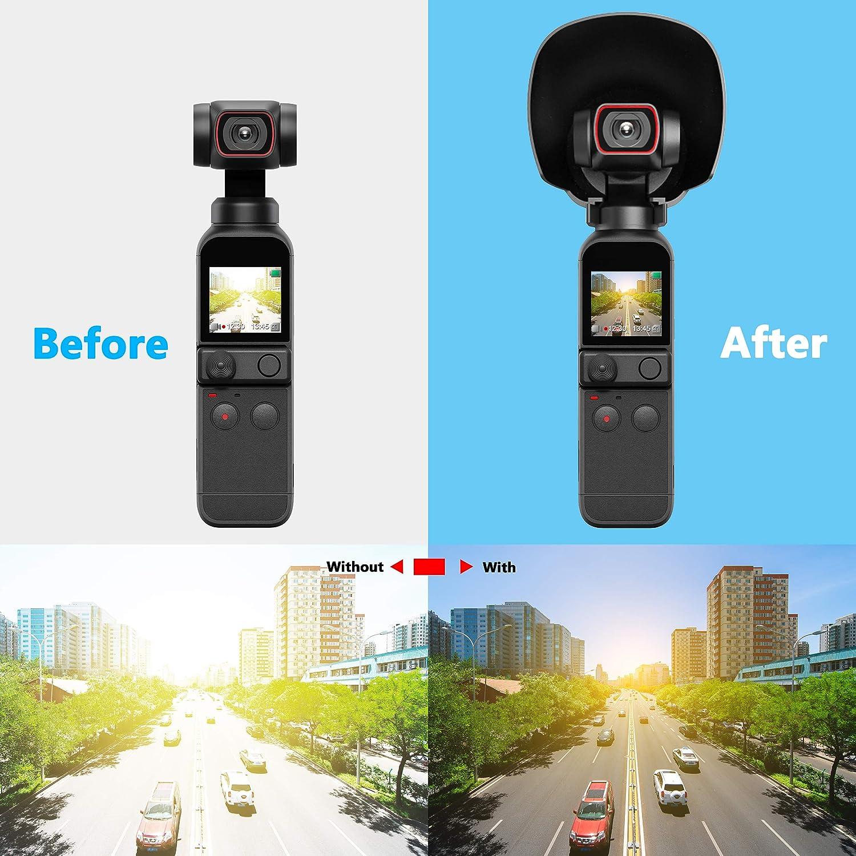 STARTRC OSMO Pocket 2 Lens Sun Hood Sunshade Cover Prevent Glare Protective Caps for DJI OSMO Pocket 2 Handle Gimbal Camera Accessories