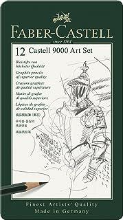 Faber Castell 9000 Art Set of Black Lead Pencils