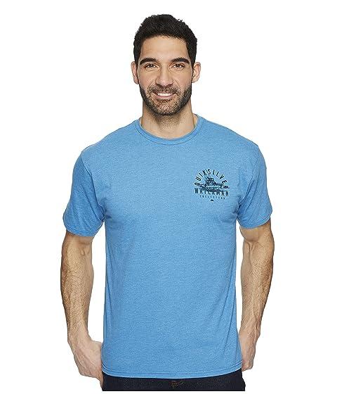 Quiksilver Short Waterman Tuna Charter Tee Sleeve qfp1qz