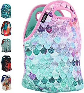 ARTOVIDA Insulated Neoprene Lunch Bag for Women, Men and Kids, Reusable Soft Lunch Tote..