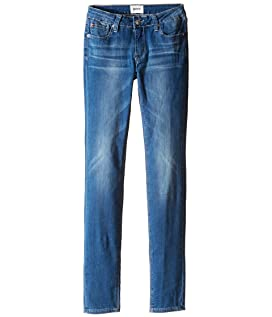 Dolly Skinny Five-Pocket Skinny Superstretch in Feather Blue (Big Kids)