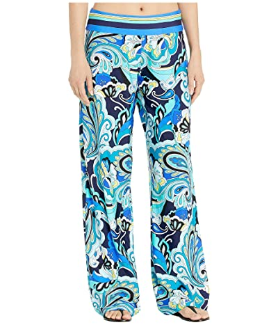 Trina Turk Ipanema Roll Top Pants Cover-Up (Multi) Women