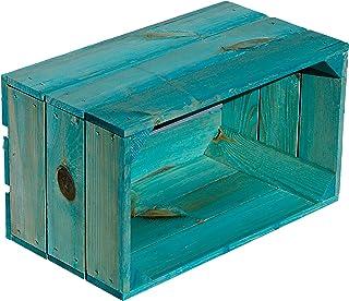 Caja kolli Altes Land Estantería Caja Hilde Turquesa sin 38x 22x 21cm Estantería Caja 452097Aparador aufebwahrungs Caja