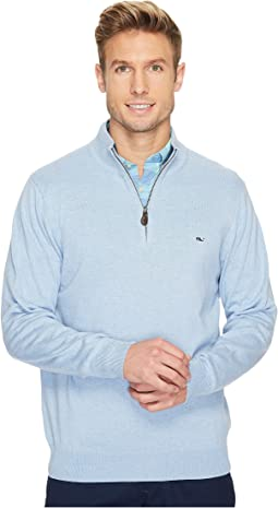 Vineyard Vines - Cotton 1/4 Zip Sweater