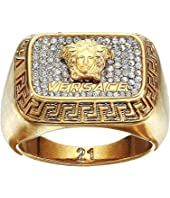 Versace - Multi Crystal Medusa Ring
