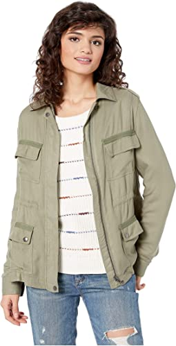 Twill It To Happen Anorak Jacket
