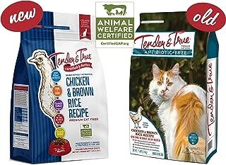 Tender & True Antibiotic-Free Chicken & Brown Rice Recipe Cat Food, 7 lb