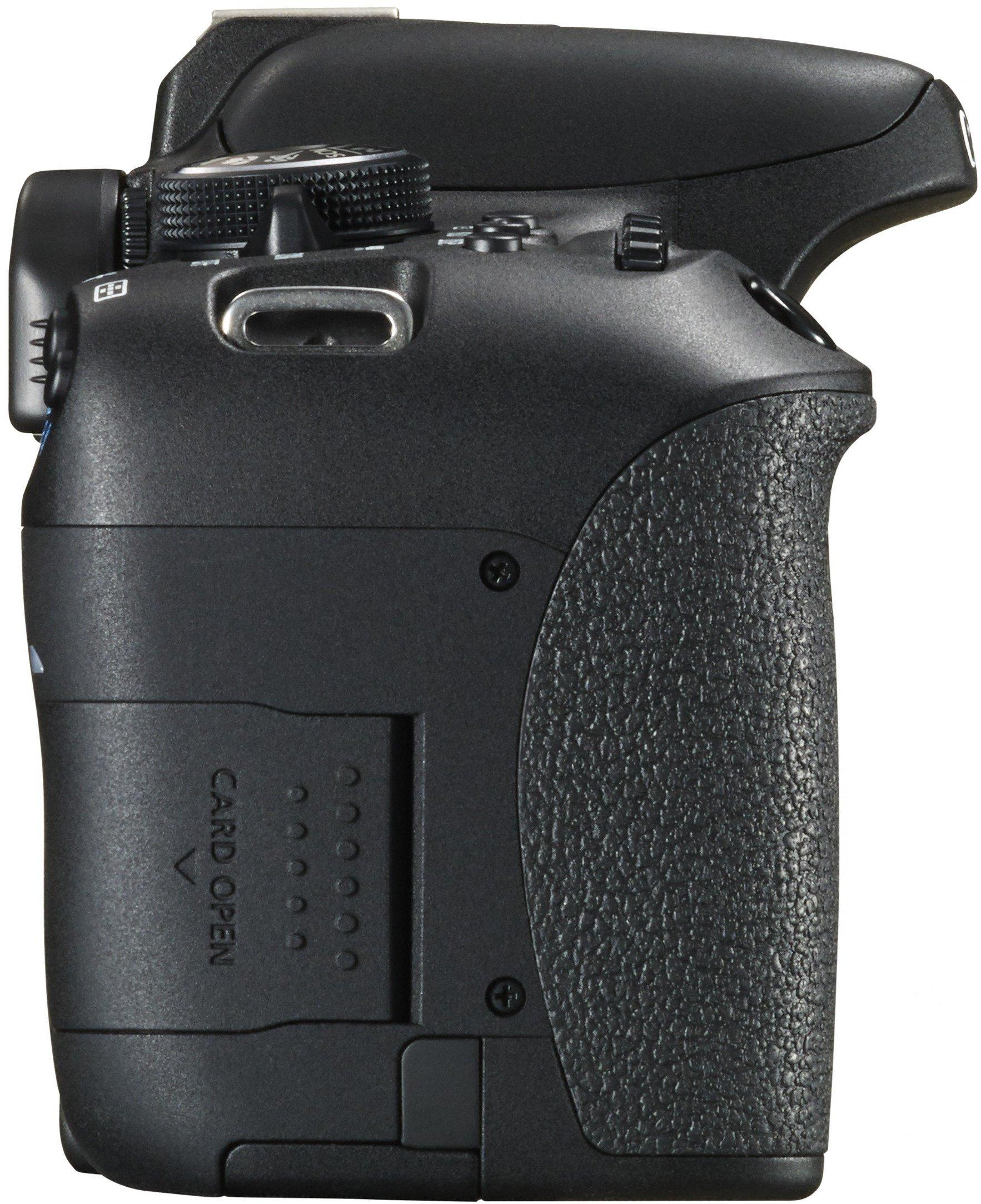 Canon EOS 750D Body - Cámara réflex digital de 24.2 Mp (pantalla 3 ...