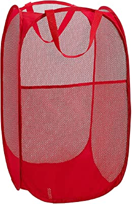 Heart Home Nylon Mesh Laundry Basket, 20Ltr (Multi)- CTHH22490