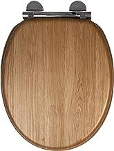 Croydex Always Fits deska sedesowa o wyglądzie jasnego dębu, rozmiar uniwersalny
