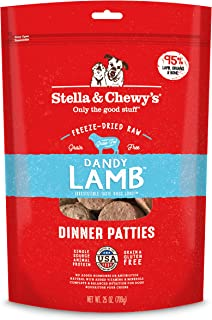 Stella & Chewy's Dandy Lamb Freeze Dried Dog Dinner Patties 25oz