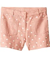 Stella McCartney Kids - Alicia Star Embroidered Denim Shorts (Toddler/Little Kids/Big Kids)