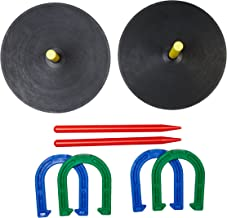 AmazonBasics Rubber Horseshoe Set
