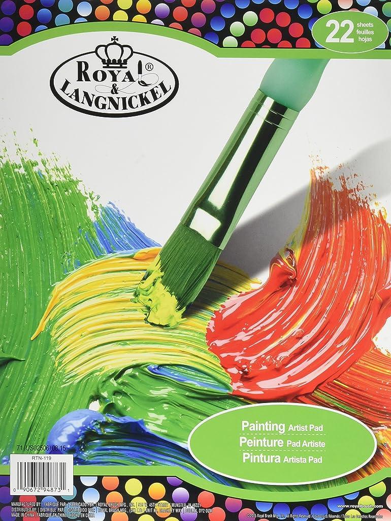 ROYAL BRUSH RTN-119 22 Sheets Painting Artist Pad 9