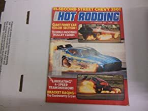 Popular Hot Rodding Magazine Giant Funny Car Color Section February 1975