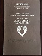 Superstar from the Rock Opera Jesus Christ Superstar. For Mixed Chorus (SATB) and Piano (or Organ) and option Rhythm Section. Arranged by Neil Slater