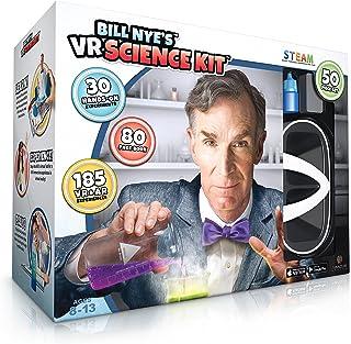 مارک های چرتکه بیل نای VR Science Kit Virtual Reality Kit Kids Science، کتاب و مجموعه فعالیت های یادگیری تعاملی