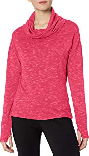 Danskin Women's Space Dye French Terry Pullover