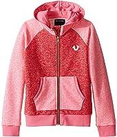 True Religion Kids - Mineral Wash Fleece Hoodie (Toddler/Little Kids)
