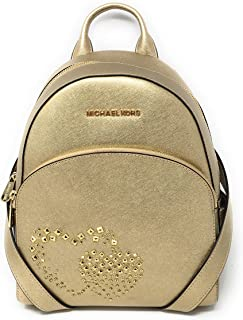 Michael Kors Abbey Medium Studded Leather Backpack For Work School Office Travel