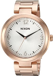 Nixon Women's 'Chameleon' Quartz Stainless Steel Watch, Color:Rose Gold-Toned (Model: A9912369-00)