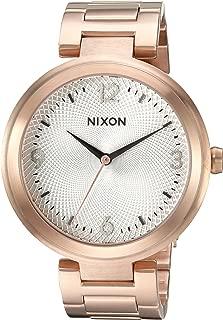 Nixon Women's 'Chameleon' Quartz Stainless Steel Watch, Color:Rose Gold-Toned (Model: A9912369-00)