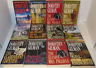 Author Dorothy Gilman Twelve (12) Book Bundle Collection Set Includes:Mrs. Pollifax On Safari - Mrs. Pollifax On The China...