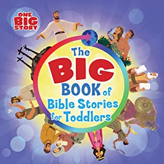 The Big Book of Bible Stories for Toddlers (padded) (One Big Story)