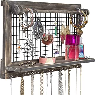 chicken wire jewelry holder