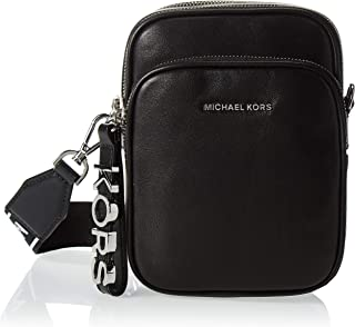 Michael Kors Womens Medium NS Corssbody Handbag, Black - 32T9SF5C8L