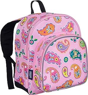 Wildkin 40210 Paisley Olive Kids 12 Inch Backpack, Pack 'n Snack