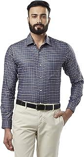 Raymond Men's Solid Slim Fit Formal Shirt