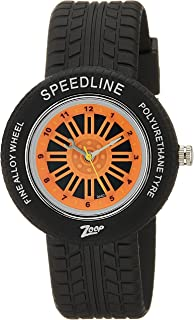 Zoop Analog Orange Dial Children's Watch -NKC3021PP02