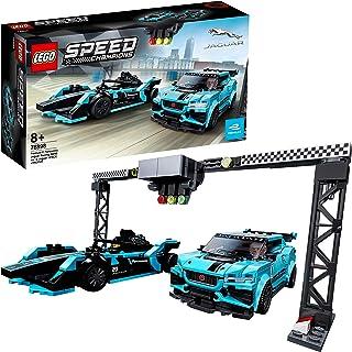 comprar comparacion LEGO Speed Champions - Formula E Panasonic Jaguar Racing GEN2 car & Jaguar I-PACE eTROPHY, Juguete de Construcción con 2 C...