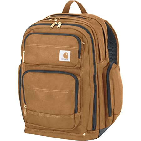Carhartt Legacy Deluxe Work Backpack with 17-Inch Laptop Compartment Black