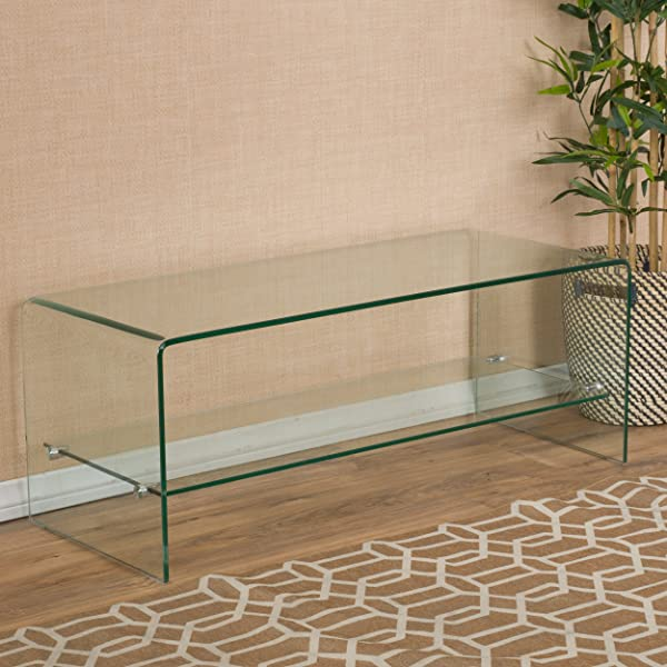 Great Deal Furniture 296721 Cabinet Clear