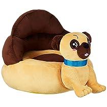 Amazon Brand – Solimo Baby Sofa Seat, Dog, Brown